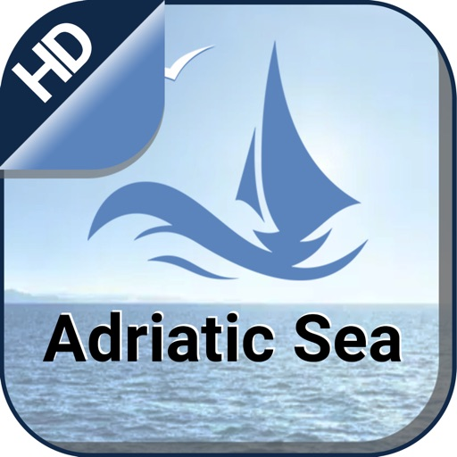 Adriatic S.  Nautical Charts