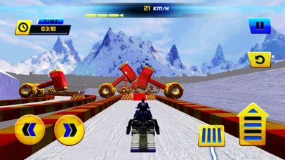 Racing Snowmobiles Mayhem screenshot two