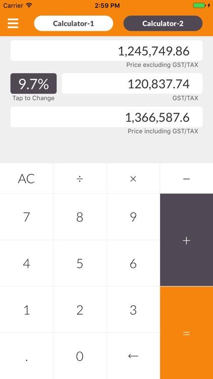Advance GST Calculator
