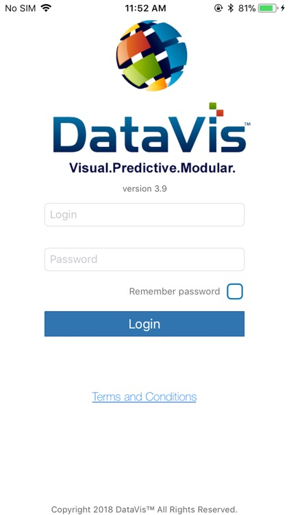 DataVis Mobile Application
