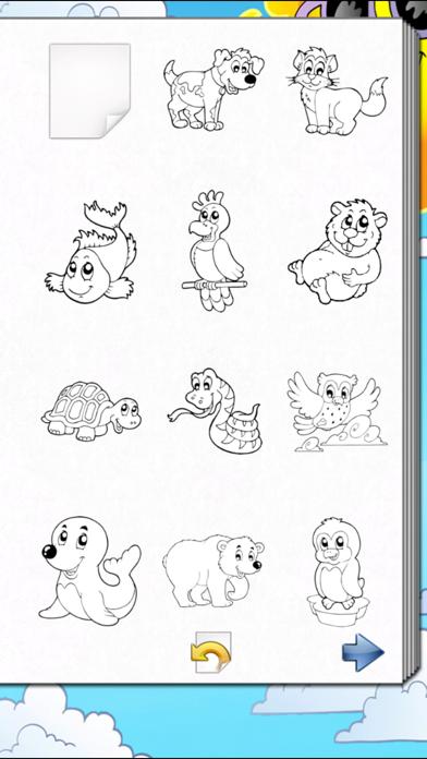 子供の塗り絵本!のおすすめ画像5