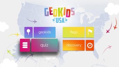 GeoKids USA fo Kids Screenshot