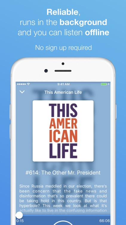 The Podcast App