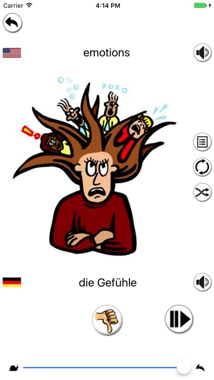 german vocabulary builder screenshot-0