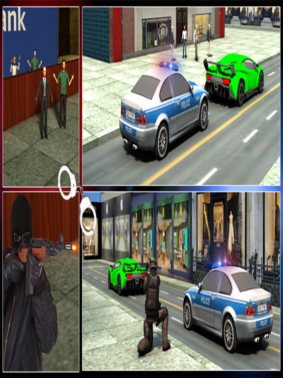 Bank Robbery Shooting Game-ipad-4