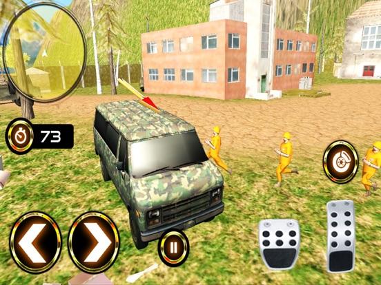 Army Criminal Transport Van 3D Скриншоты7