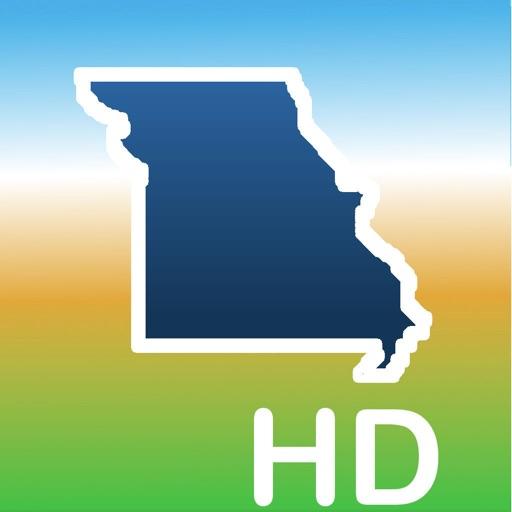Aqua Map Missouri Lakes GPS HD
