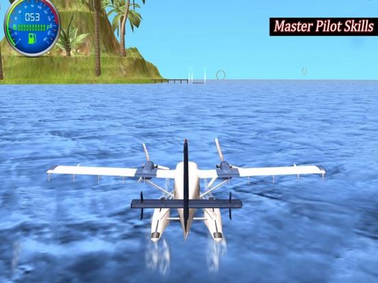 Flying Sea Stunts 3D screenshot 4