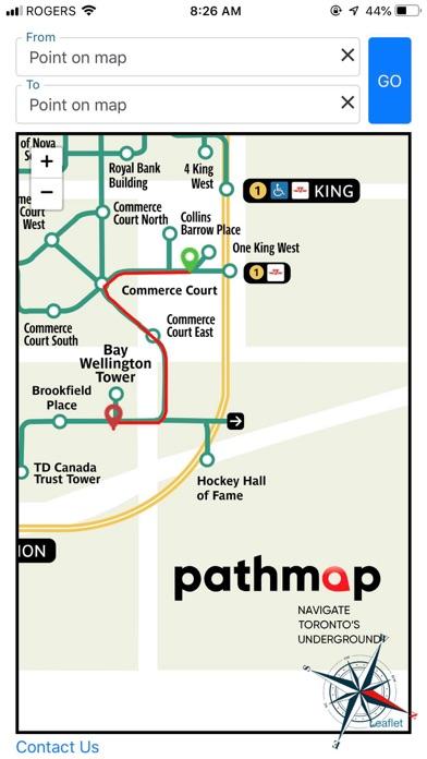Pathmap screenshot three