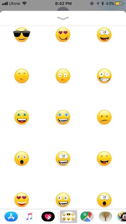 Smileys Stickers - Emojis screenshot-3