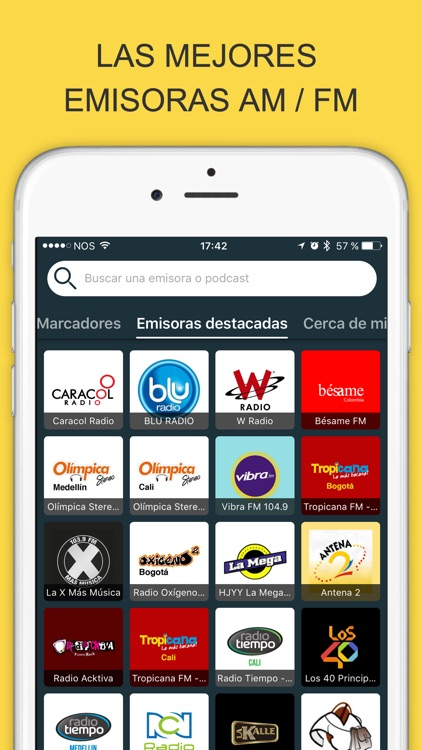 Radios Colombia - Live FM / Online Radio Stations