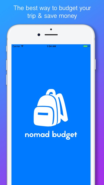 nomad budget travel budget trip expense tracker by nathan pope