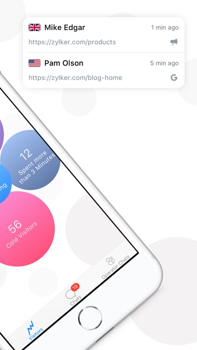Zoho SalesIQ-Live Chat App : iPhoneアプリランキング