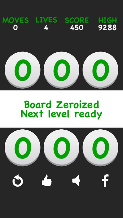 Number puzzle game Zeroize