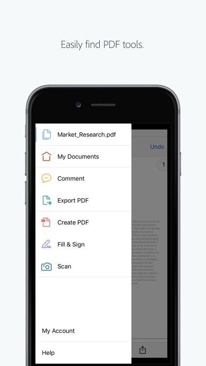 Adobe Acrobat Reader screenshot-0