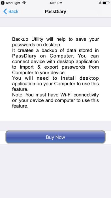 PassDiary Password Manager Скриншоты7