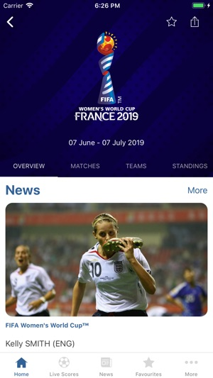 FIFA - Football News & Scores Screenshot