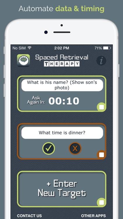 Spaced Retrieval Therapy
