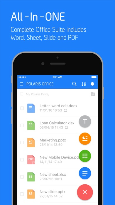 Polaris Office - PDF & Docs Screenshots