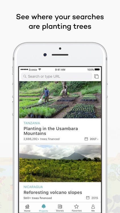Ecosia screenshot-2