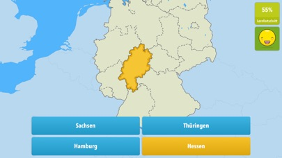 Screenshot for Wo liegt das? in Germany App Store