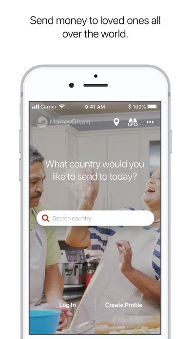 Screenshot for MoneyGram in United States App Store