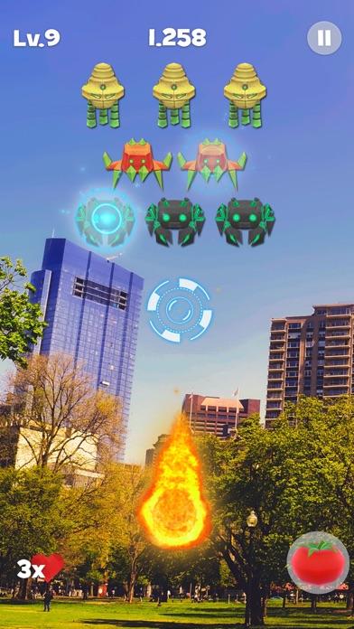 Space Alien Invaders ARのおすすめ画像1