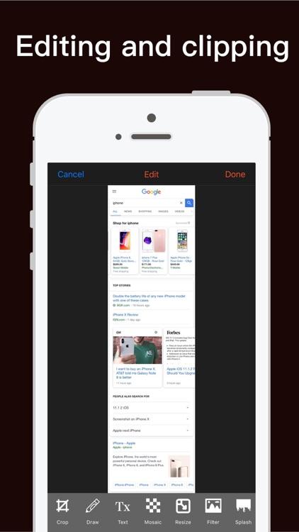Screenshot-Webpage Screenshot