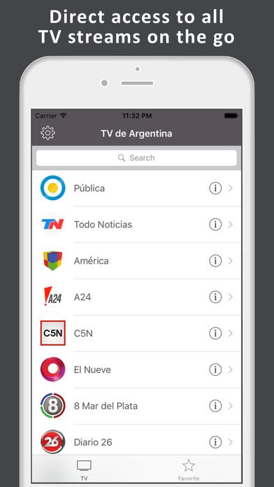 TV de Argentina - TV en vivo App Data & Review - News - Apps