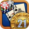 Blackjack 21: Casino Card Game - Ironjaw Studios Private Limited Cover Art