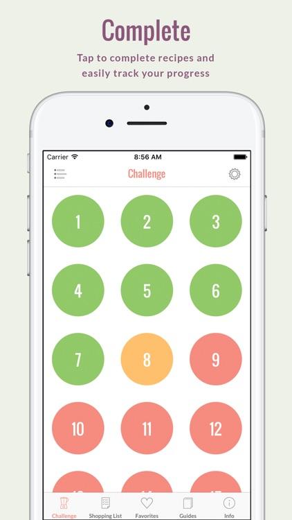 Rawvana's Smoothie Challenge screenshot-4