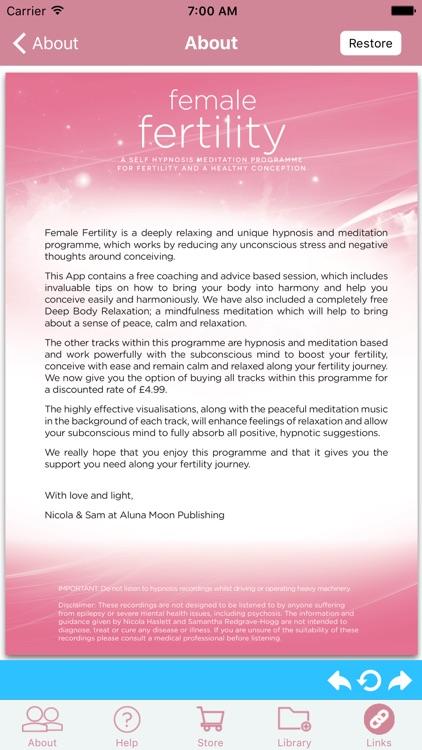 Female Fertility & Pregnancy H screenshot-3