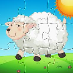 Farm Animals - Puzzle for kids