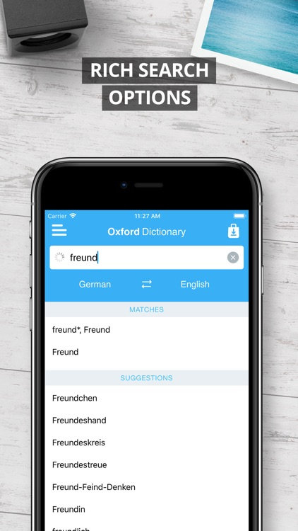 Oxford German Dictionary 2017 screenshot-3
