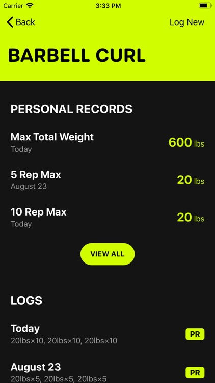 Gains - Log your workouts screenshot-3