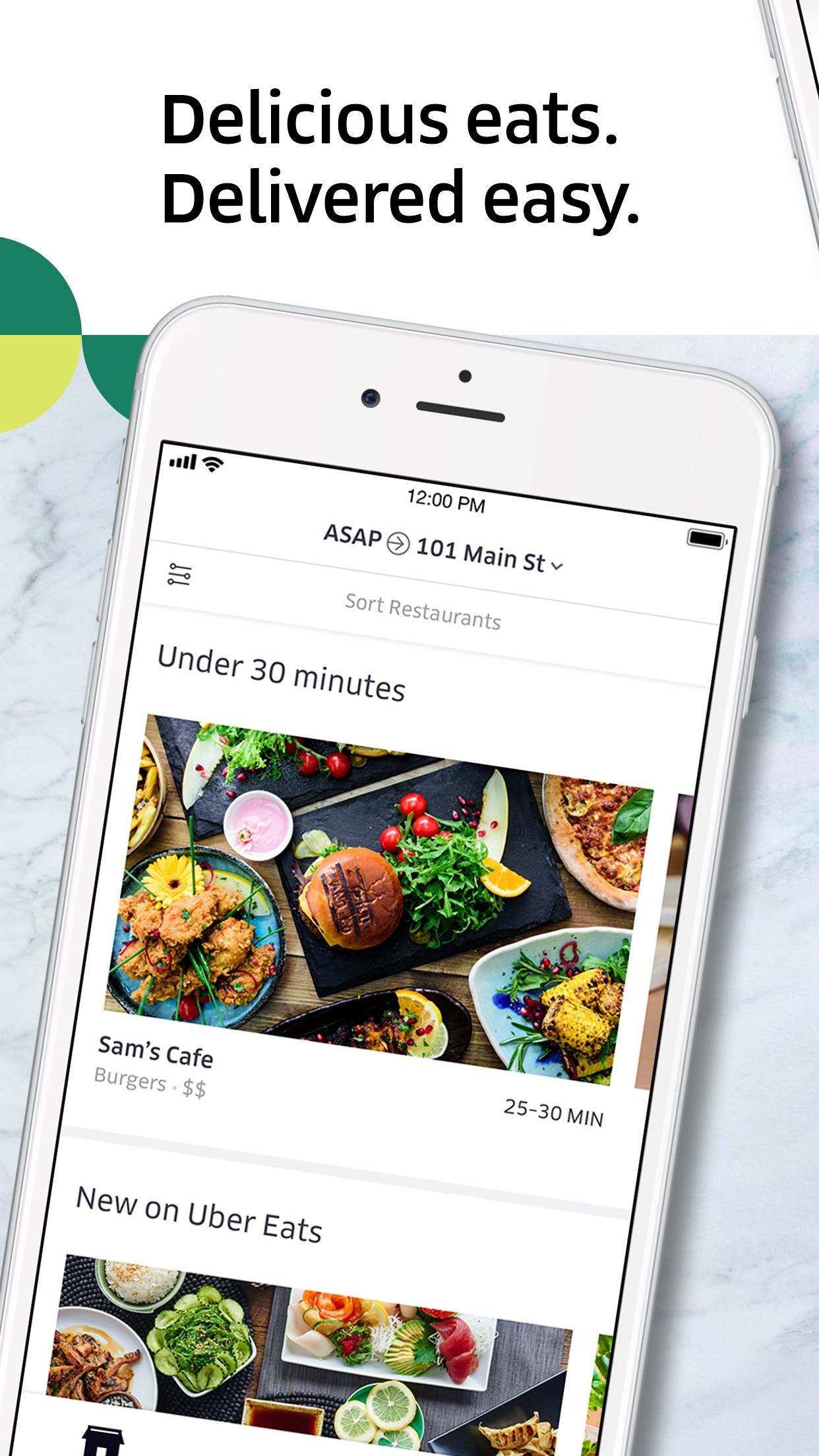 Uber Eats: Food Delivery Screenshot