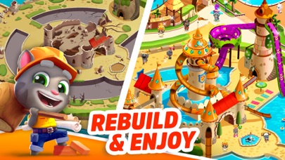 Talking Tom Pool - Puzzle Game screenshot 3