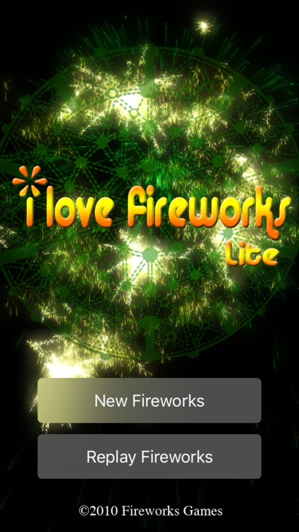 iLoveFireworks Lite screenshot-0
