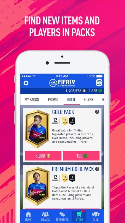 EA SPORTS™ FIFA 19 Companion