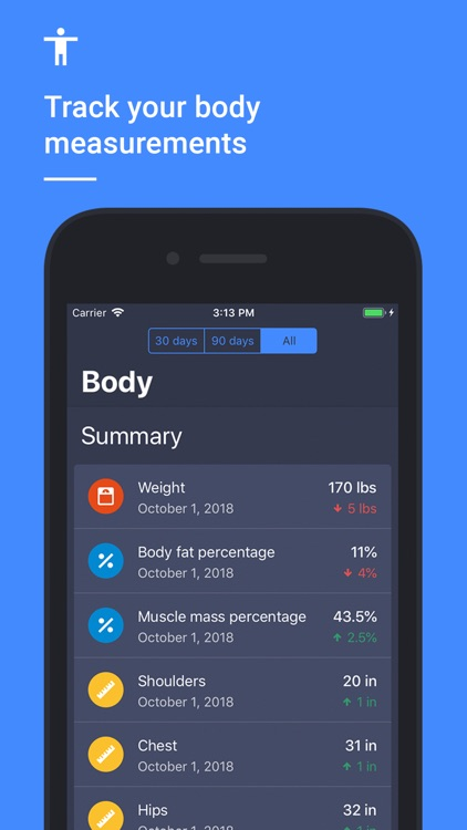 Strength Training & Gym Log screenshot-5
