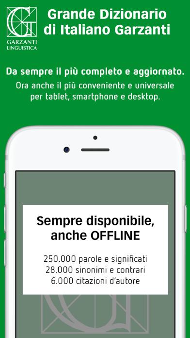 Dizionario Italiano Garzantiのおすすめ画像1