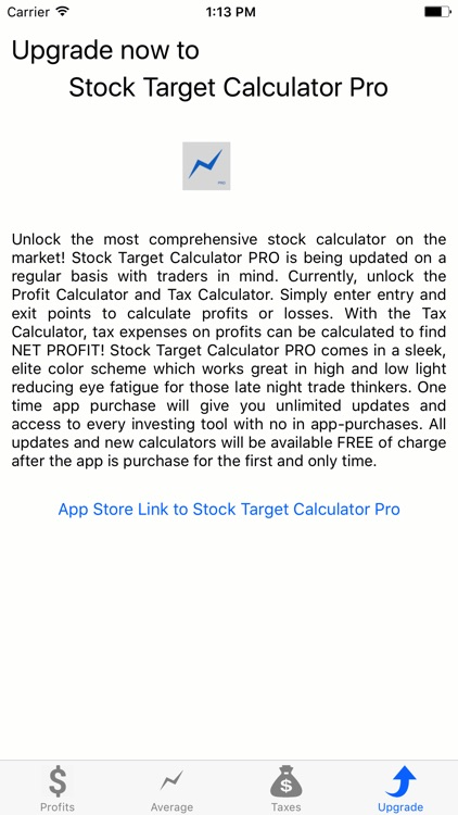 Stock Target Calculator screenshot-4