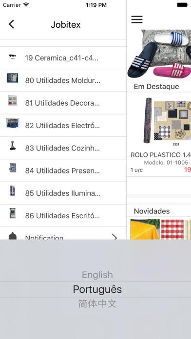 Jobitex Screenshot