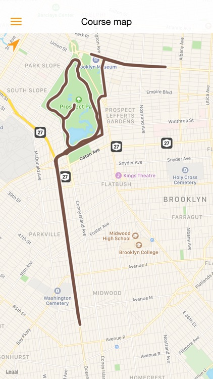NYCRUNS Brooklyn Marathon screenshot-4