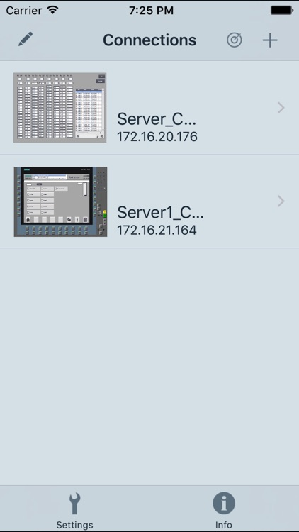 WinCC Sm@rtClient screenshot-2