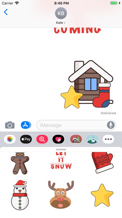 Christmas Stickers And Phrases screenshot-3