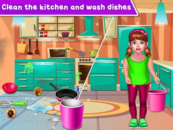 Baby Girl Home Cleaning screenshot 10