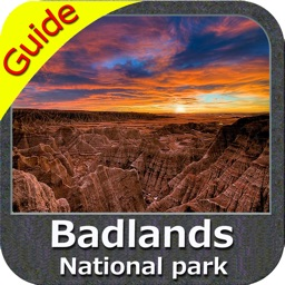 Badlands National Park - GPS Map Navigator