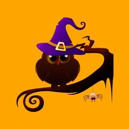 Halloween Bird Cat