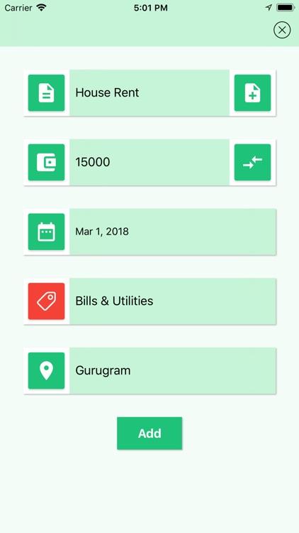 Basic Expense Manager screenshot-4